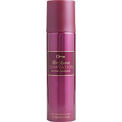 Her Secret Temptation By Antonio Banderas Deodorant Spray 5.1 Oz For Women