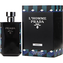 PRADA L'HOMME ABSOLU by Prada EDP SPRAY 3.4 OZ for MEN
