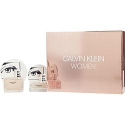 CALVIN KLEIN WOMEN by Calvin Klein SET-EDP SPRAY 3.4 OZ & EDP SPRAY 1 OZ for WOMEN