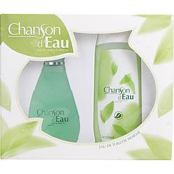 CHANSON D'EAU by Coty SET EDT SPRAY 3.4 OZ & SHOWER GEL 6.7 OZ for WOMEN