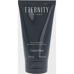ETERNITY by Calvin Klein HAIR AND BODY WASH 5 OZ for MEN