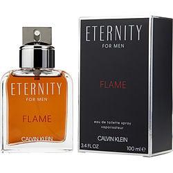 ETERNITY FLAME by Calvin Klein EDT SPRAY 3.4 OZ for MEN