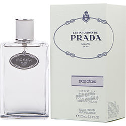 PRADA INFUSION IRIS CEDRE by Prada EAU DE PARFUM SPRAY 6.8 OZ for WOMEN Launched by the design house of Prada in 2007, PRADA INFUSION IRIS CEDRE by Prada for WOMEN posesses a blend of: Galbanum, Mandarin Orange, Neroli, Iris, Incense It is recommended for wear.
