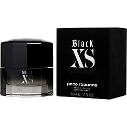 BLACK XS by Paco Rabanne EDT SPRAY 1.7 OZ (NEW PACKAGING) for MEN