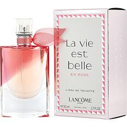 LA VIE EST BELLE EN ROSE by Lancome EDT SPRAY 1.7 OZ for WOMEN