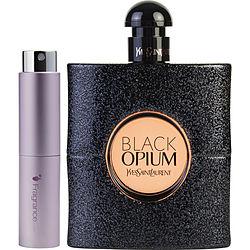 Black Opium by Yves Saint Laurent EDP SPRAY .27 OZ (TRAVEL SPRAY) for WOMEN