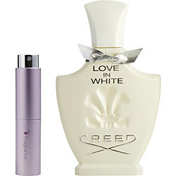 CREED LOVE IN WHITE by Creed EDP SPRAY .27 OZ (TRAVEL SPRAY) for WOMEN