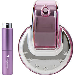 BVLGARI OMNIA PINK SAPPHIRE by Bvlgari EDT SPRAY .27 OZ (TRAVEL SPRAY) for WOMEN