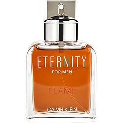 ETERNITY FLAME by Calvin Klein EDT SPRAY 3.4 OZ *TESTER for MEN