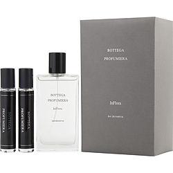 BOTTEGA-PROFUMIERA-INFLORA-by-Bottega-Veneta-SET-EAU-DE-PARFUM-SPRAY-3-3-OZ-EAU-DE-PARFUM-1-OZ-X2-TRAVEL-SPRAY-for-WOMEN
