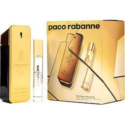 PACO RABANNE 1 MILLION by Paco Rabanne SET-EDT SPRAY 3.4 OZ & EDT SPRAY .68 OZ (TRAVEL OFFER) for MEN