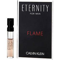 ETERNITY FLAME by Calvin Klein EDT SPRAY VIAL for MEN