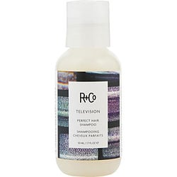 R+CO by R+Co TELEVISION PERFECT HAIR SHAMPOO 1.7 OZ for UNISEX Launched by the design house of R+Co in, R+CO by R+Co for UNISEX posesses a blend of: It is recommended for wear.
