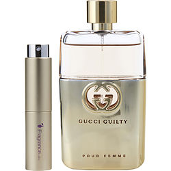 GUCCI GUILTY POUR FEMME by Gucci EDP SPRAY .27 OZ (TRAVEL SPRAY) for WOMEN