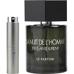 LA NUIT DE L'HOMME YVES SAINT LAURENT LE PARFUM by Yves Saint Laurent EDP SPRAY .27 OZ (TRAVEL SPRAY) for MEN