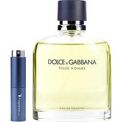 DOLCE & GABBANA by Dolce & Gabbana EDT SPRAY .27 OZ (TRAVEL SPRAY) for MEN