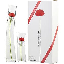KENZO FLOWER by Kenzo SET-EDP SPRAY 1.7 OZ & EDP SPRAY .5 OZ for WOMEN