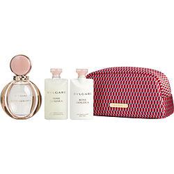 BVLGARI ROSE GOLDEA by Bvlgari SET-EAU DE PARFUM SPRAY 3 OZ & BODY LOTION 2.5 OZ & SHOWER GEL 2.5 OZ & BAG for WOMEN