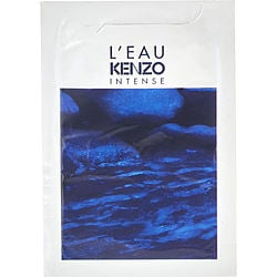 L'EAU KENZO INTENSE by Kenzo EDT VIAL 0.02 OZ for MEN Launched by the design house of Kenzo in 2015, L'EAU KENZO INTENSE by Kenzo for MEN posesses a blend of: Vetiver, Cedar, Sea water, Yuzu, Lime It is recommended for wear.