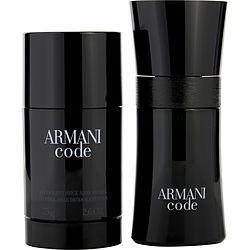 ARMANI CODE by Giorgio Armani SET-EDT SPRAY 1.7 OZ & ALCOHOL FREE DEODORANT STICK 2.6 OZ for MEN