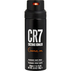 CRISTIANO RONALDO CR7 GAME ON by Cristiano Ronaldo BODY SPRAY 5 OZ for MEN Launched by the design house of Cristiano Ronaldo in, CRISTIANO RONALDO CR7 GAME ON by Cristiano Ronaldo for MEN posesses a blend of: It is recommended for wear.
