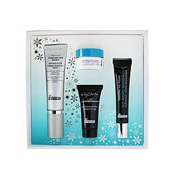 Dr. Brandt by Dr. Brandt Festive & Flawless Kit: Pore Refiner Primer 30ml+ No More Baggage 15g+ Microdermabrasion 15g+ Hyaluronic Facial Cream 10g -4pcs for WOMEN