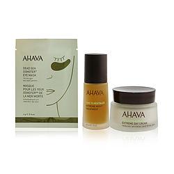 Ahava by Ahava My Dream Mineral Set: Extreme Day Cream 50ml+ Extreme Night Treatment 30ml+ DeadSea Osmoter Eye Mask 6pairs+ Bag -8pcs+1bag for WOMEN