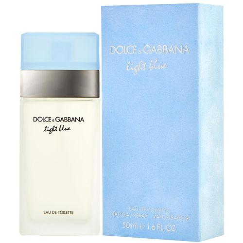 d g light blue by dolce gabbana edt spray 1 6 oz ebay. Black Bedroom Furniture Sets. Home Design Ideas