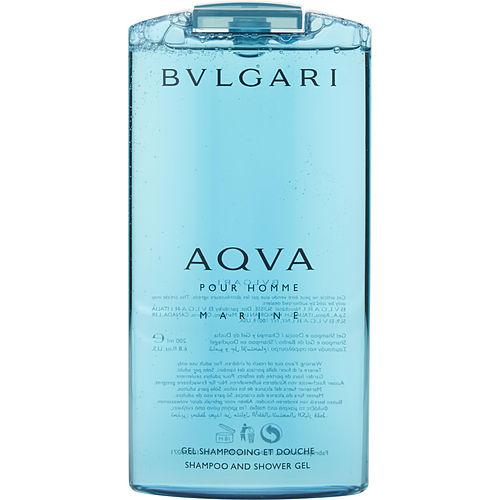 BVLGARI AQUA MARINE by Bvlgari SHAMPOO AND SHOWER GEL 6.7 OZ for MEN 100% Authentic
