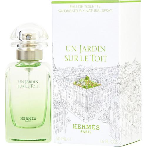 Un jardin sur le toit by hermes edt spray 1 7 oz for Parfum un jardin sur le toit
