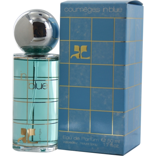 courreges in blue by courreges eau de parfum spray 1 7 oz ebay. Black Bedroom Furniture Sets. Home Design Ideas