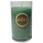 ALOE SPA SCENTED CANDLE ONE 3x9 inch GLASS PILLAR SCENTED CANDLE.  A FRESH, GREEN, CLEAN & SOOTHING FRAGRANCE.  BURNS APPROX. 120 HRS.,ALOE SPA SCENTED,Candle