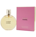 CHANEL CHANCE Perfume by Chanel - EDT SPRAY 3.4 OZ (UNBOXED) Designer Discount Womens Cheap :  perfumes perfume chanel chanel perfume