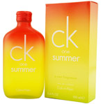 CK ONE SUMMER Cologne by Calvin Klein - EDT SPRAY 3.4 OZ (RED/YELLOW) Designer Discount Cheap Mens :  perfumes perfume fragrances calvin klein